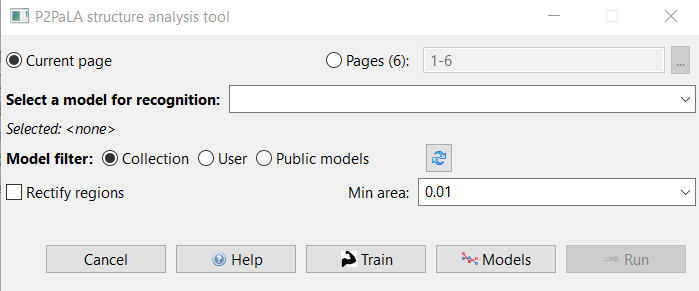 How To Use the Structural Tagging Feature and How To Train It with ...